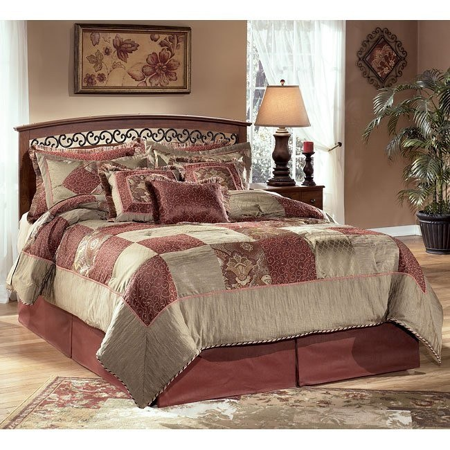 Timberline Queen/ Full Panel Bed (Headboard Only)