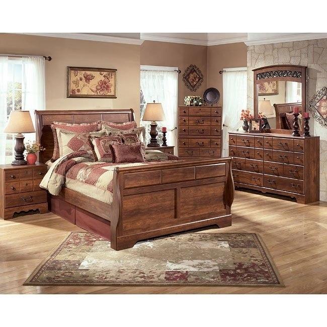 Timberline Sleigh Bedroom Set Signature Design By Ashley Furniture Furniturepick
