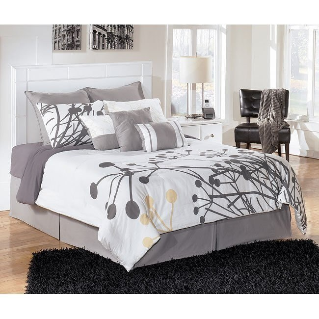 Weeki Queen/Full Panel Bed (Headboard Only)