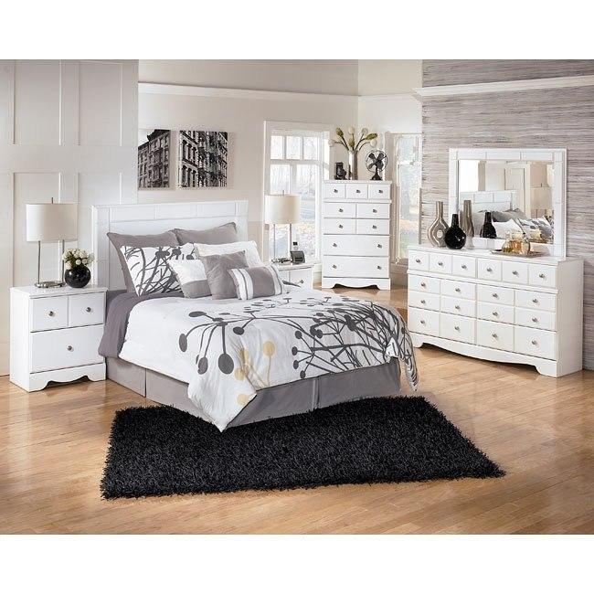 Weeki Headboard Bedroom Set