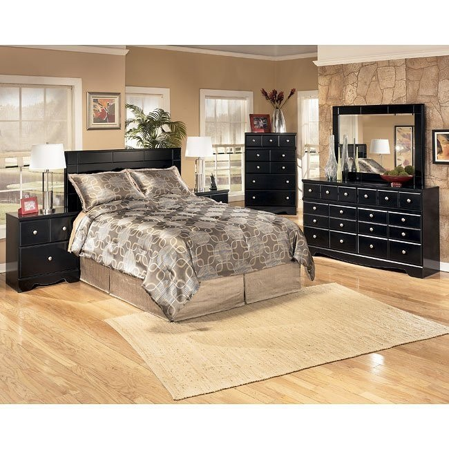 Shay Queen/ Full Headboard Bedroom Set