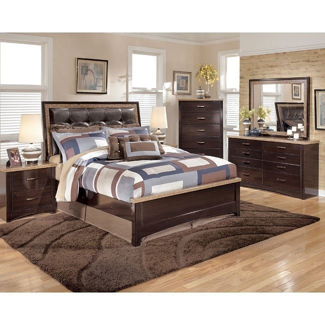 Urbane Upholstered Bedroom Set