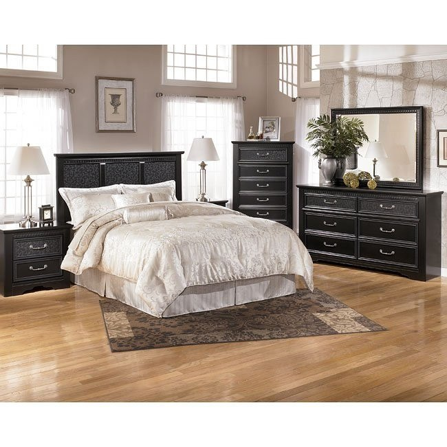 Cavallino Headboard Bedroom Set