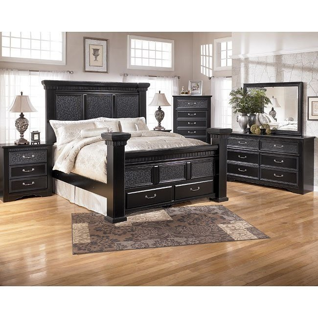 Cavallino Storage Bedroom Set By Signature Design By