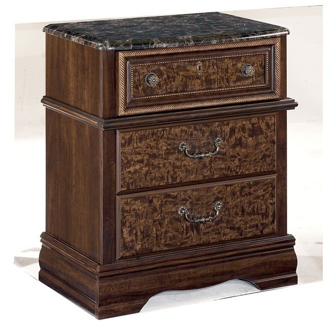 Southerland Shire Three Drawer Night Stand