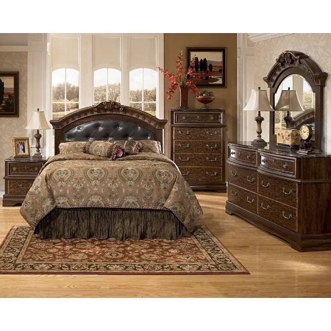 Southerland Shire Headboard Bedroom Set