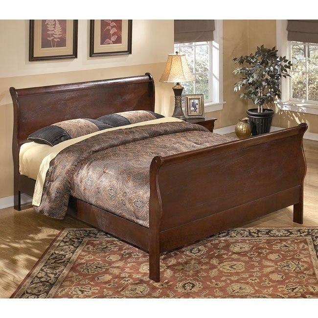 Dyrham Sleigh Bed