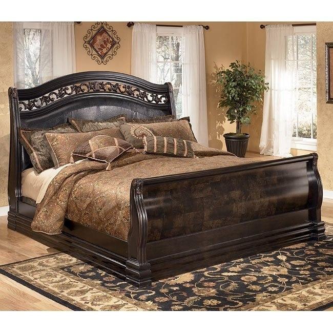 Suzannah Sleigh Bed
