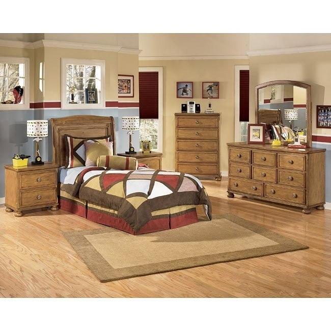 Branson Headboard Bedroom Set