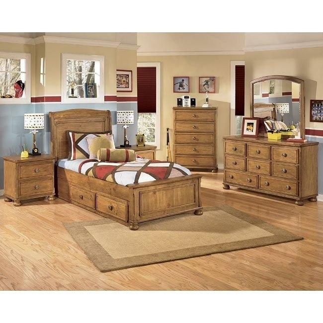 Branson Storage Bedroom Set