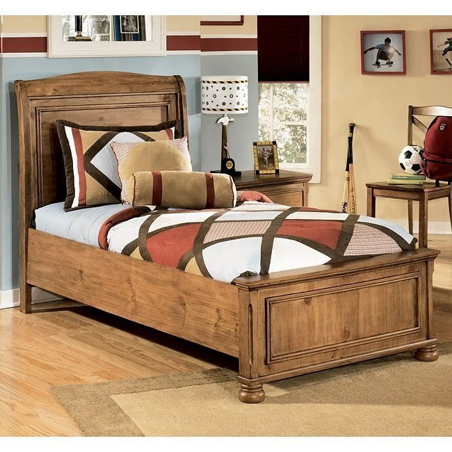 Branson Panel Bed