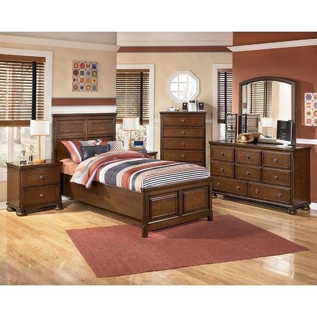 Portsquire Panel Bedroom Set