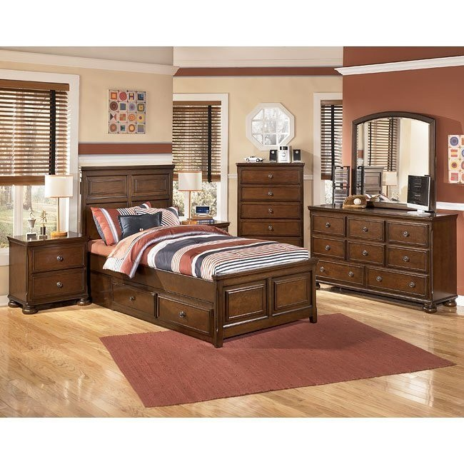 Portsquire Storage Bedroom Set