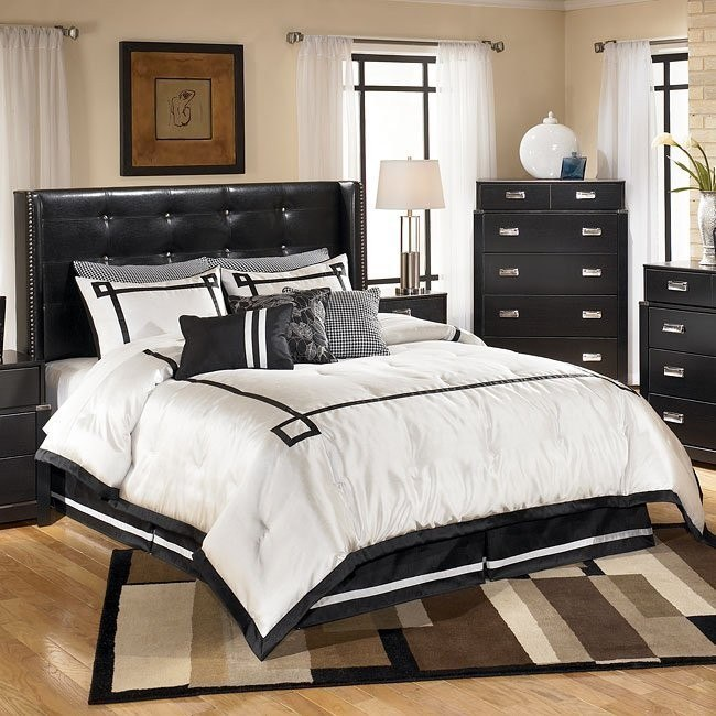 Diana Upholstered Wing Bed (Headboard Only)