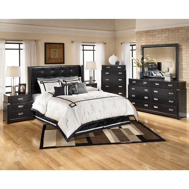Diana Wing Headboard Bedroom Set