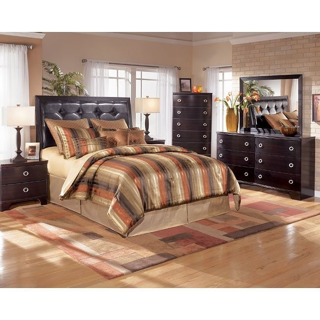 Pinella Headboard Bedroom Set