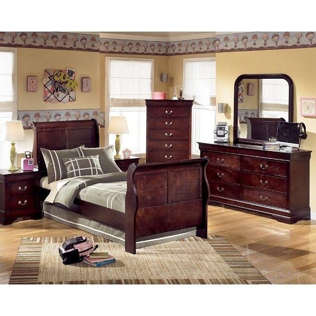 Janel Youth Sleigh Bedroom Set