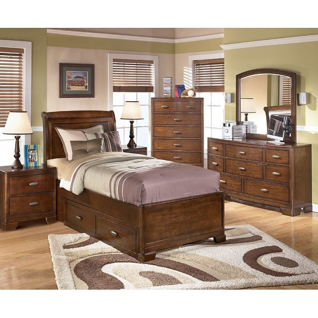 Alea Storage Bedroom Set