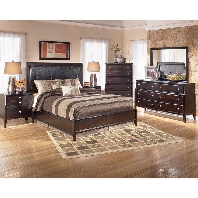 Naomi Platform Bedroom Set