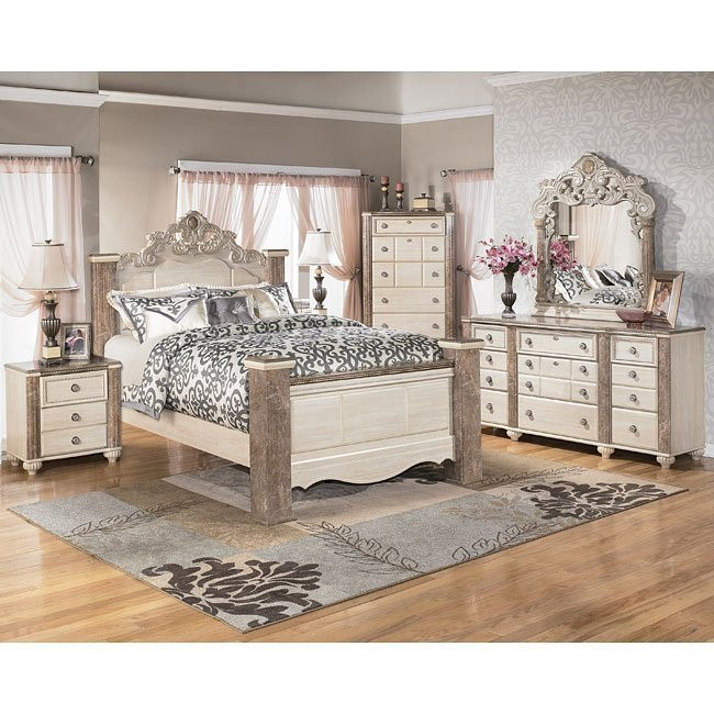 Charlinda Poster Bedroom Set