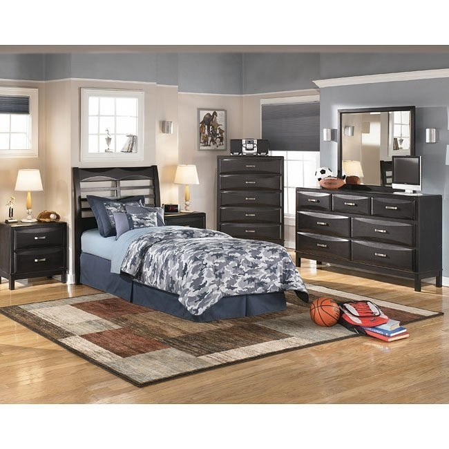 Kira Headboard Bedroom Set