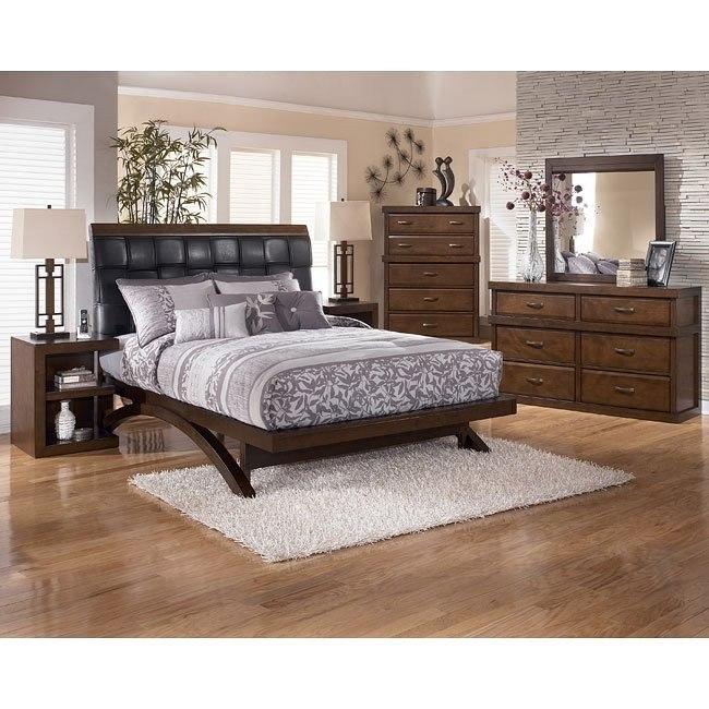 Minburn Platform Bedroom Set