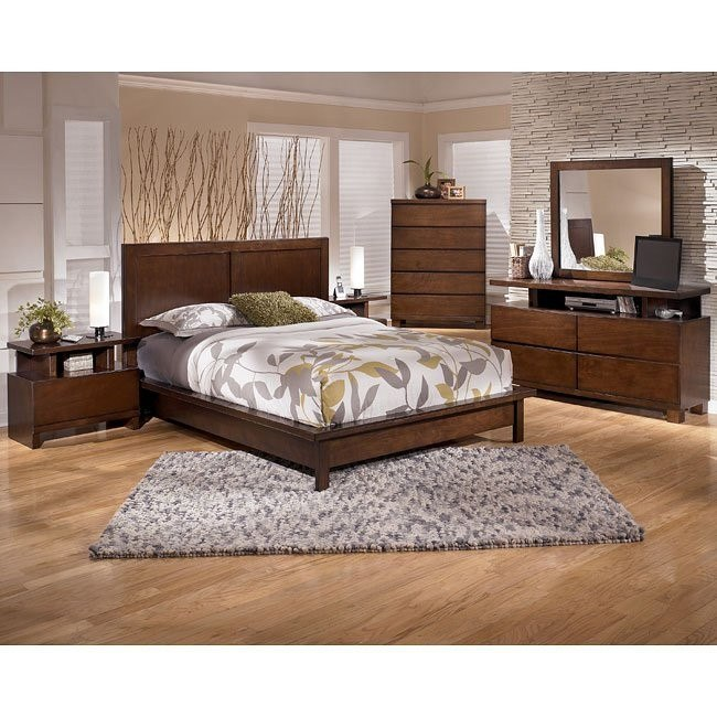 Hyden Platform Bedroom Set