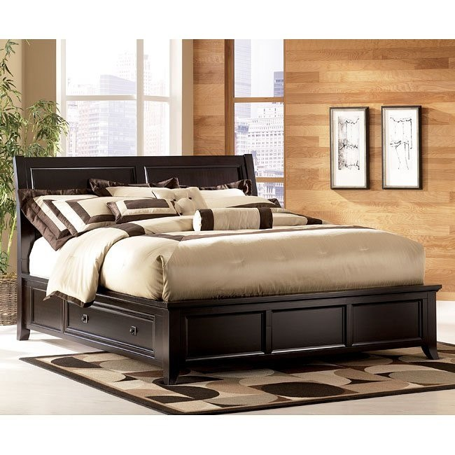 Martini Suite Storage Platform Bed