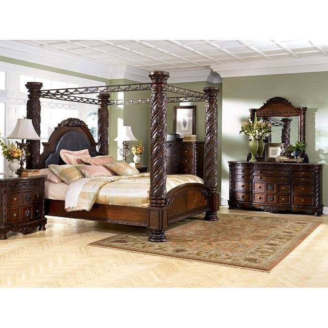 North Shore Canopy Bedroom Set