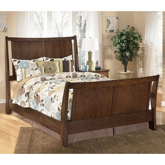 Freemont Sleigh Bed