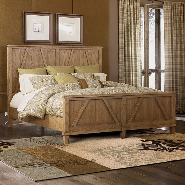 Danbury Heights Panel Bed