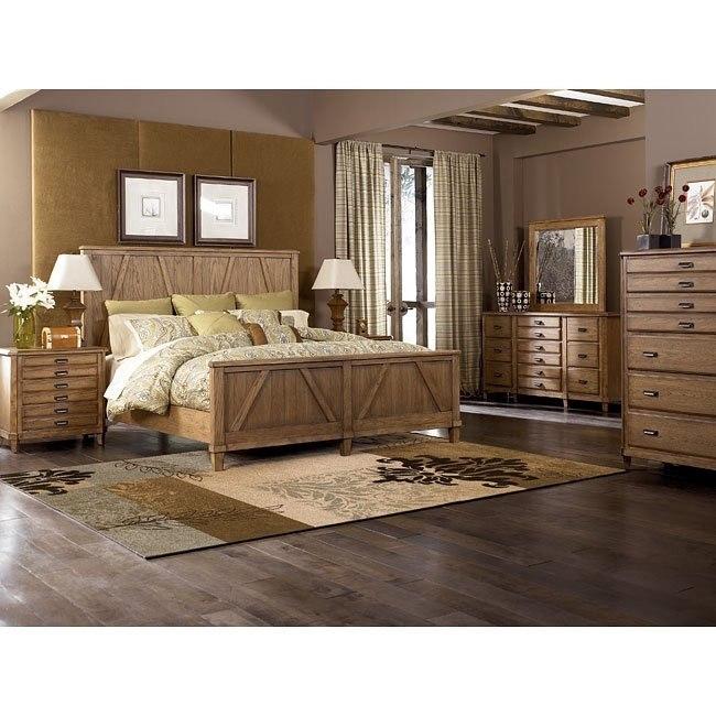 Danbury Heights Panel Bedroom Set