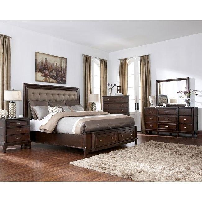 Larimer Bedroom Set w/ Panel Bed