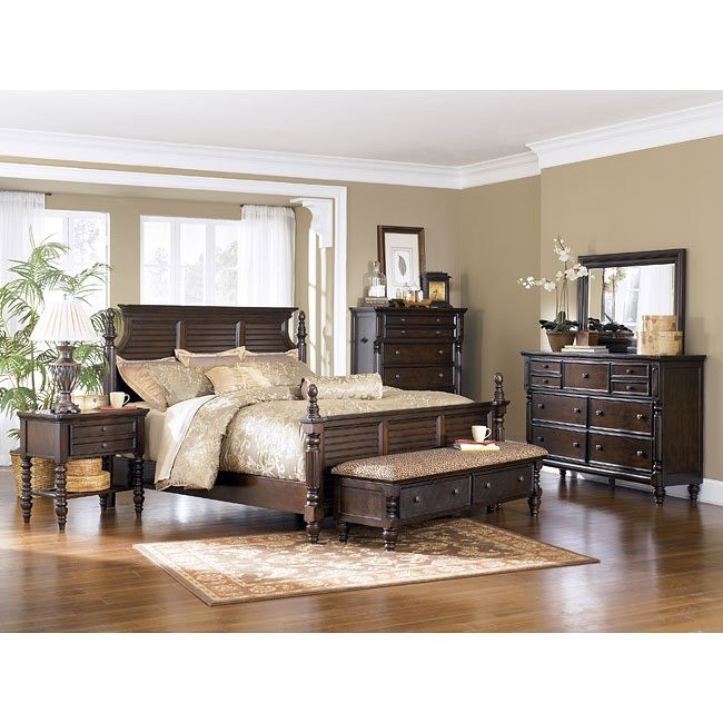 Key Town Panel Bedroom Set