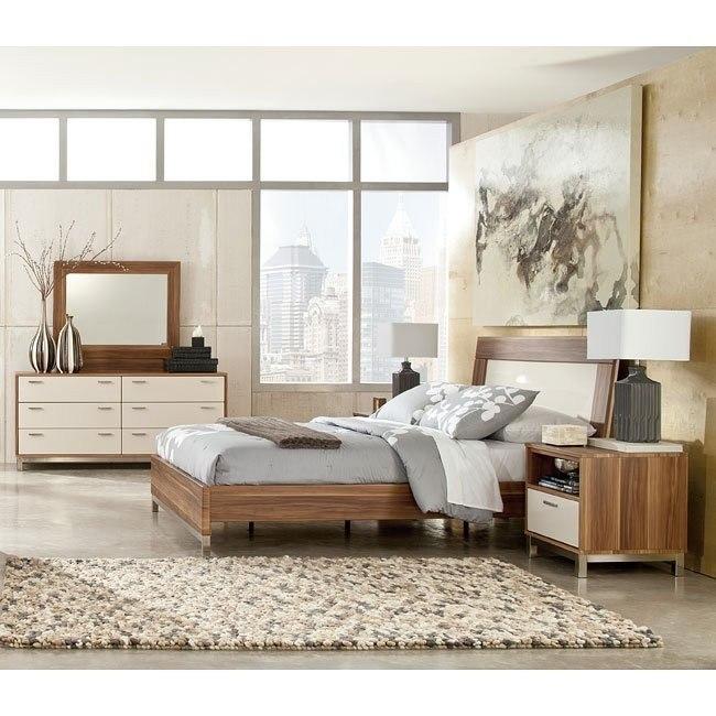 Candiac Bedroom Set w/ Panel Bed