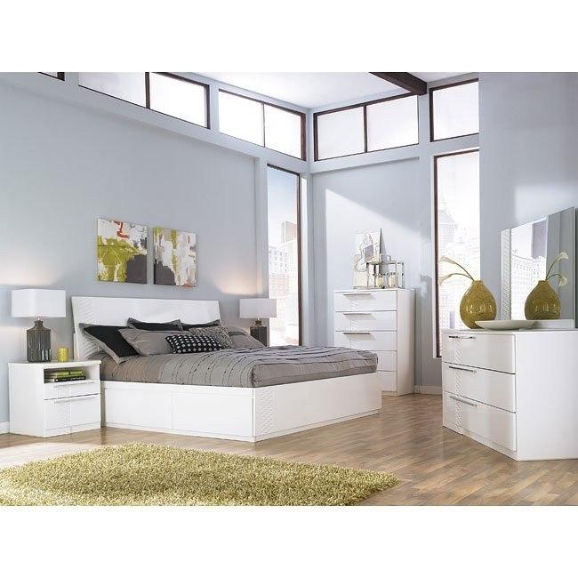 Jansey Platform Storage Bedroom Set