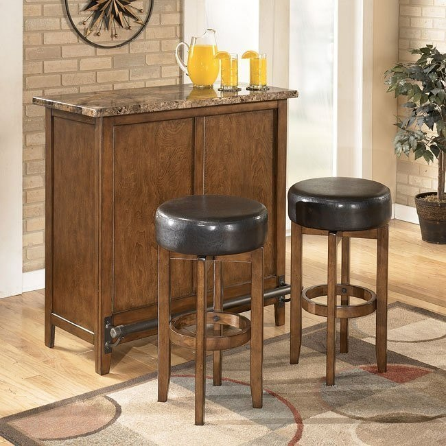 Theo Home Bar Set Signature Design By Ashley Furniture