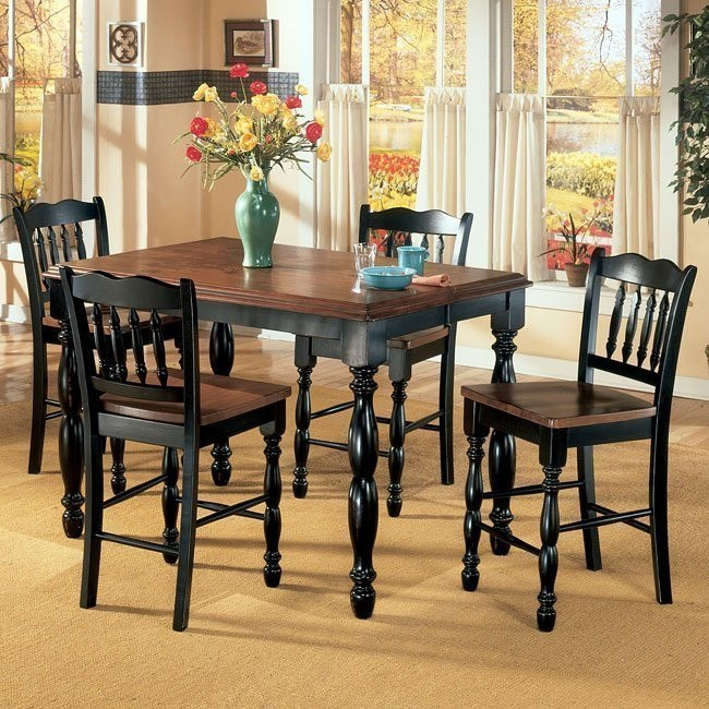 Cedar Heights Counter Height Dining Room Set