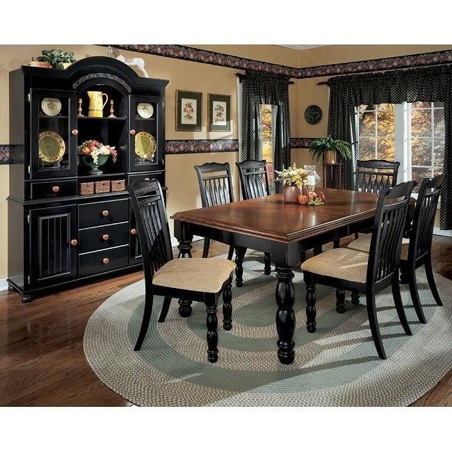 Cedar Heights Extension Dining Room Set