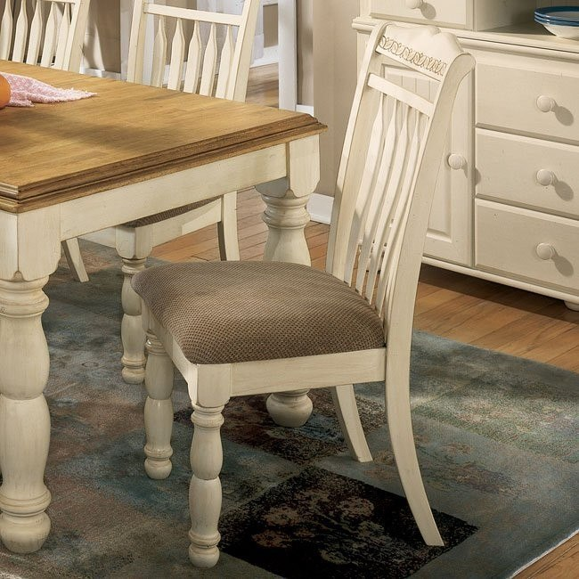 Cottage Retreat Soft Seat Side Chair (Set of 2)