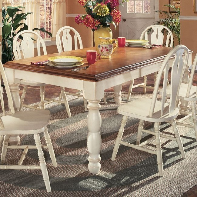 Cottage Retreat Rectangular Extension Table