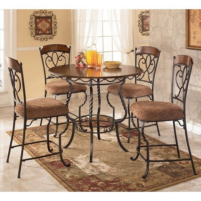 Nola 5-Piece Counter Height Dinette