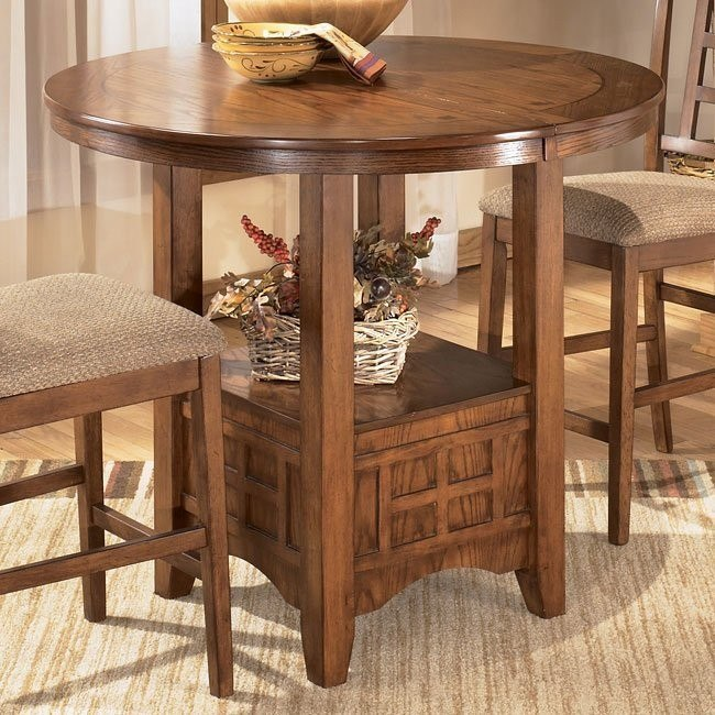 Cross Island Counter Height Extension Table