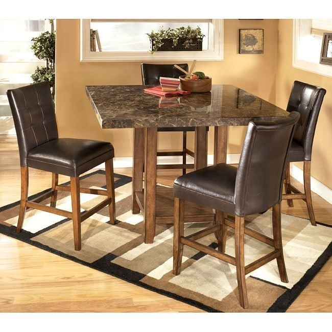 Lacey Square Counter Height Dining Room Set