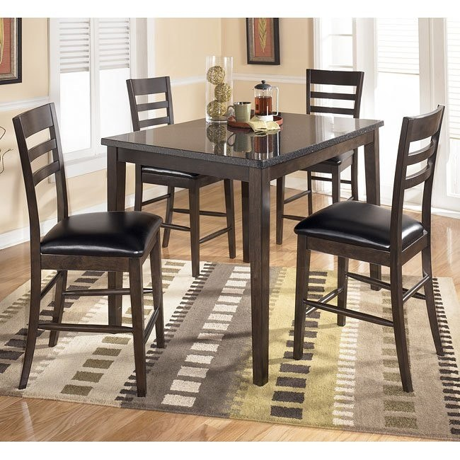 Tara 5-Piece Counter Height Dinette