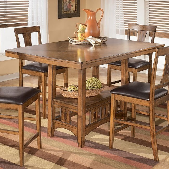 Pasha Rectangular Counter Height Table
