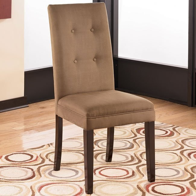 Newbold Side Chair (Set of 2) (Mocha)