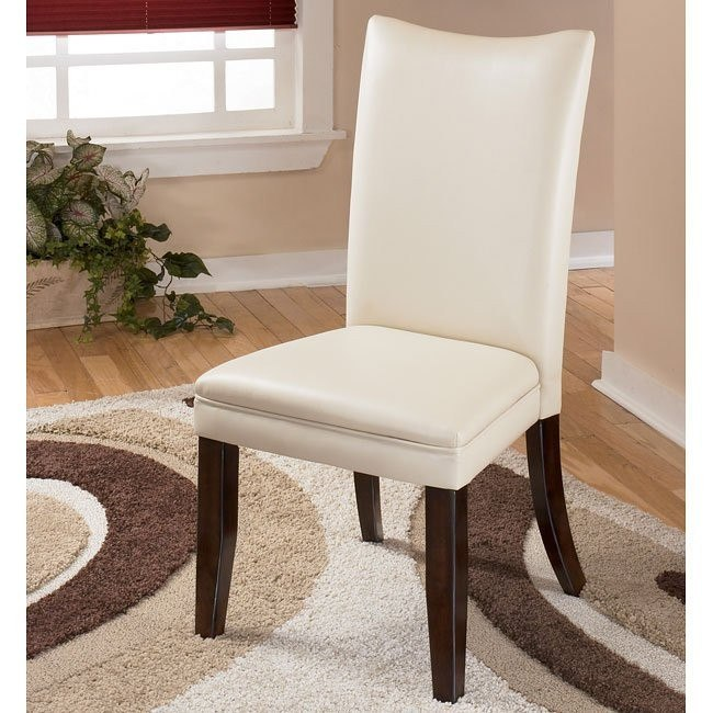 Charrell Side Chair (Set of 2) (Ivory)