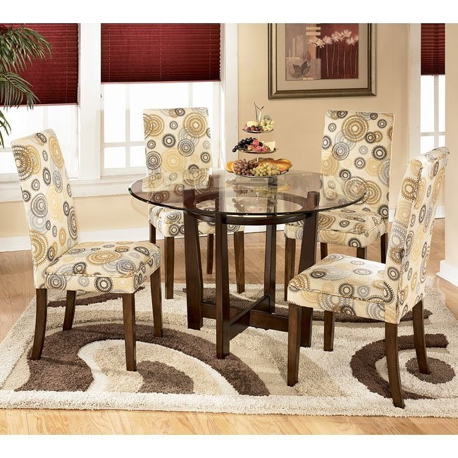 Charrell Round Dinette with Twinkle Chairs
