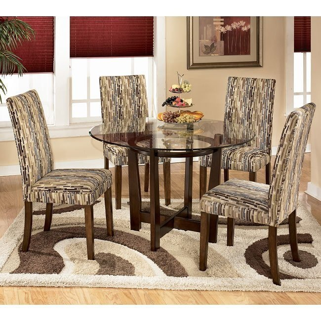 Charrell Round Dinette with Atlantic Chairs